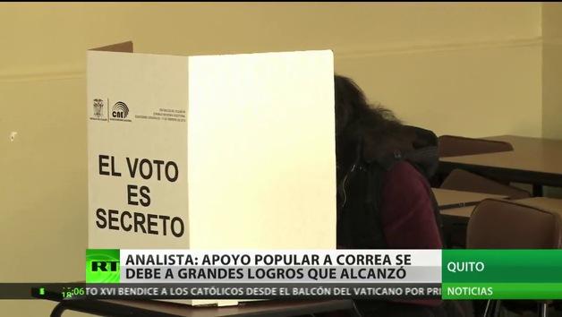 """""""Los ecuatorianos no van a arriesgar la estabilidad que obtuvieron con Rafael Correa"""""""
