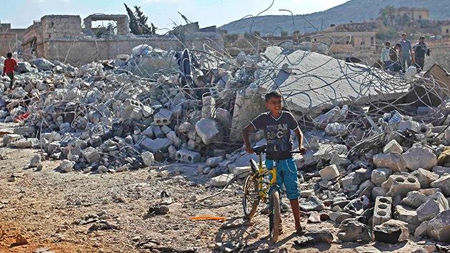 El último ataque aéreo de EE.UU. contra el EI en Siria deja al menos 5 civiles muertos