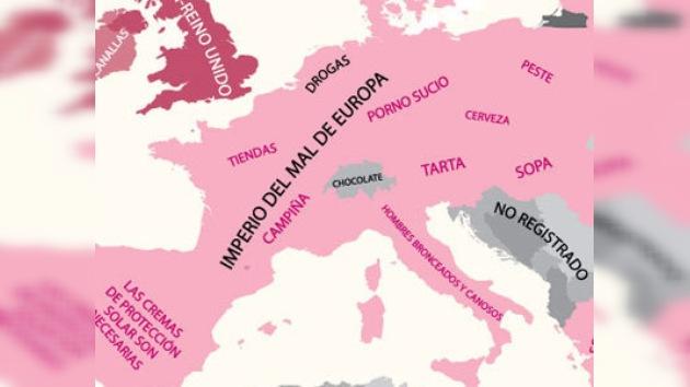 El 'Imperio del Mal de Europa' causa sensación en internet