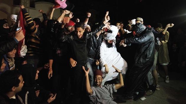 Harlem Shake, un nuevo método de protesta en Egipto