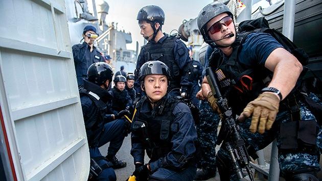 EE.UU. y Singapur inician ejercicios navales en el disputado mar de China Meridional
