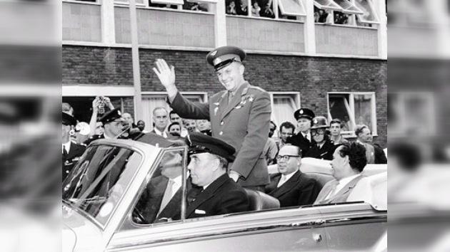 El mundo aplaudía de pie a Yuri Gagarin