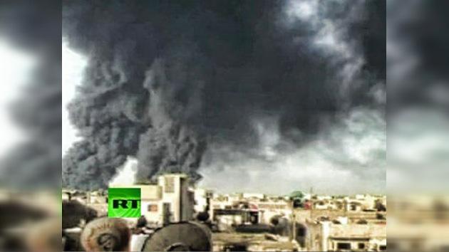 VIDEO: Atacan con explosivos un oleoducto en Siria