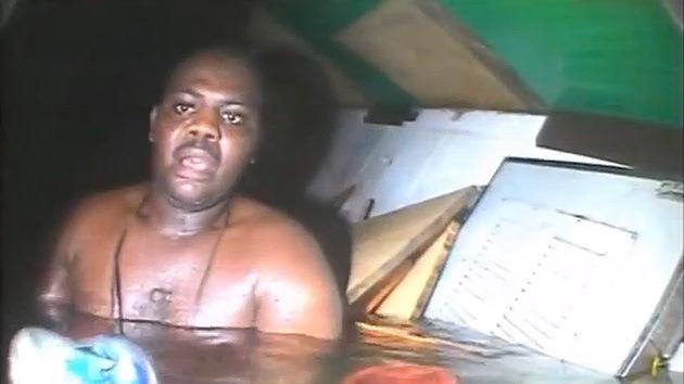 Video: El insólito rescate de un hombre que permaneció 72 horas bajo el agua