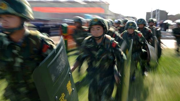 Tropas chinas se dirigen a Rusia para participar en ejercicios antiterroristas