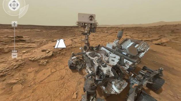 Increíbles fotos panorámicas de Marte en 4.000 millones de píxeles