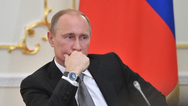Putin denuncia asaltos sistemáticos contra intereses estratégicos de Rusia