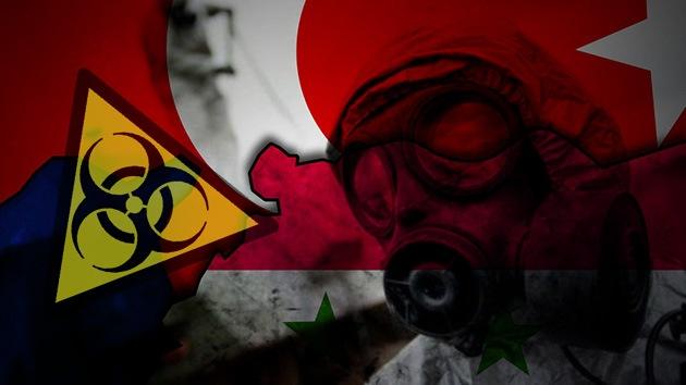 Rebeldes sirios intentaron comprar en Turquía material químico para gas sarín