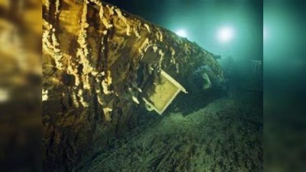 Se creará un mapa tridimensional de la zona del hundimiento del Titanic