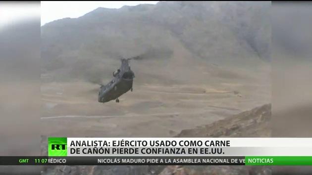 Analista: A EE.UU. no le interesan sus  soldados, sino invadir otros países