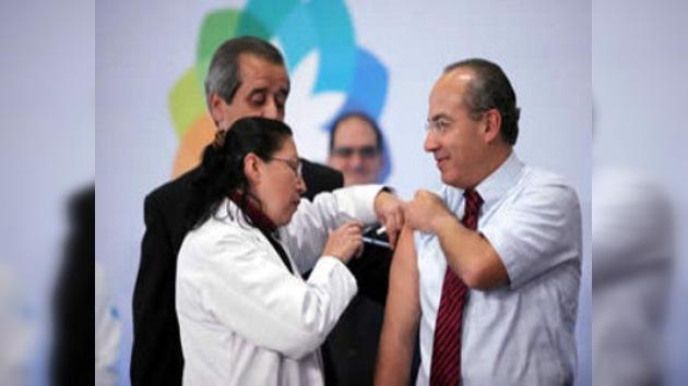 México inicia la campaña nacional de vacunación contra la gripe A