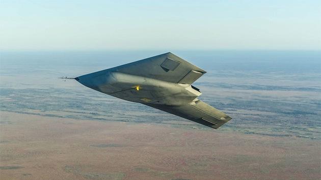 El caza furtivo supersecreto Taranis realiza su vuelo de prueba