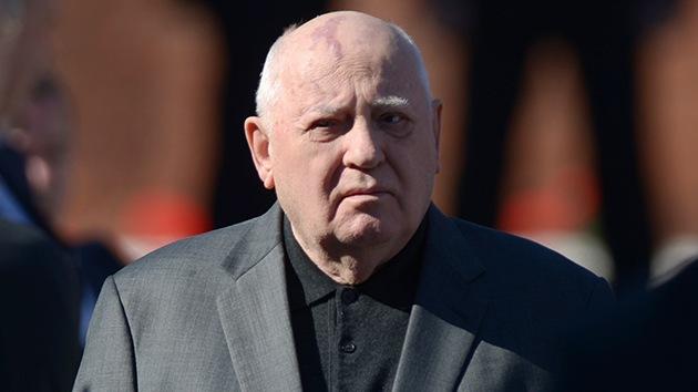 Mijaíl Gorbachov: La plaga principal en el mundo es EE.UU.