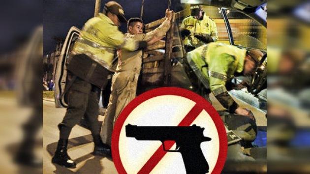 En Bogotá entra en vigor la ley de desarme