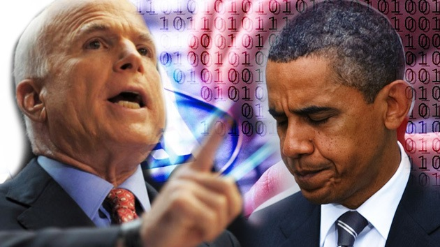 Senador McCain: la ciberguerra secreta contra Irán es marketing electoral demócrata