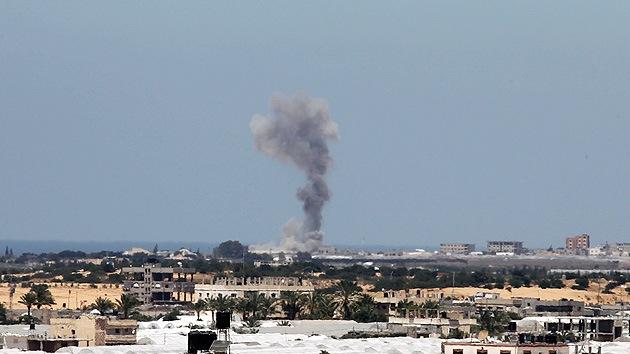 Israel bombardea la Franja de Gaza tras la reconciliación de Hamás y Fatah