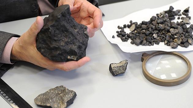 'Made in China': supuestos fragmentos del meteorito ruso aperecen en el mercado asiatico