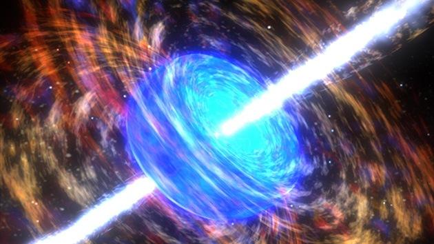Astrónomos rusos captan una ráfaga de rayos gamma de potencia récord