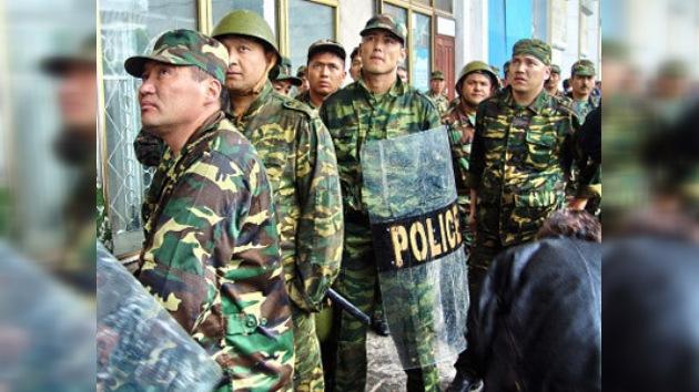 Medidas excepcionales de seguridad en la capital de Kirguistán