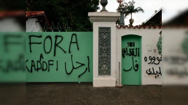 La guerra civil libia se 'traslada' a Brasil