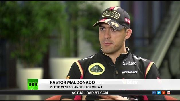 Entrevista con Pastor Maldonado, piloto venezolano de Fórmula 1
