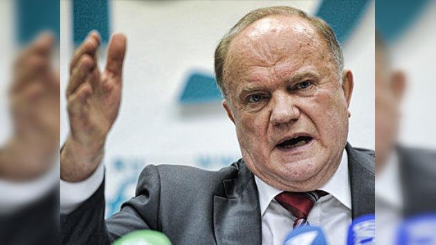 El candidato comunista pide más control ciudadano en las presidenciales en Rusia