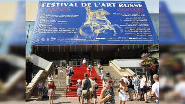 Arrancó en Cannes el Festival del Arte Ruso