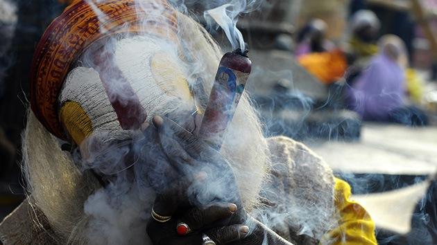 La marihuana purifica en la noche de Shiva