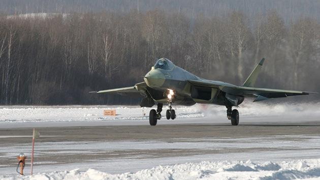 Cazas de quinta generación rusos T-50 (PAK-FA) entrarán en servicio en 2016
