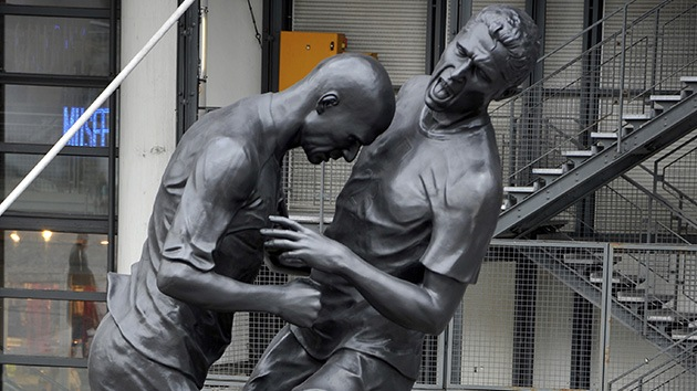 El cabezazo de Zidane a Materazzi, en bronce