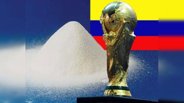 Se incauta en Colombia una Copa Mundial de Fútbol rellena de cocaína