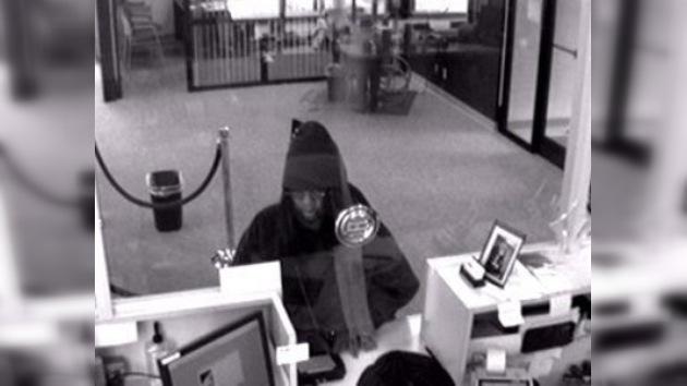 Mujer con defecto del habla intentó robar banco en dos oportunidades