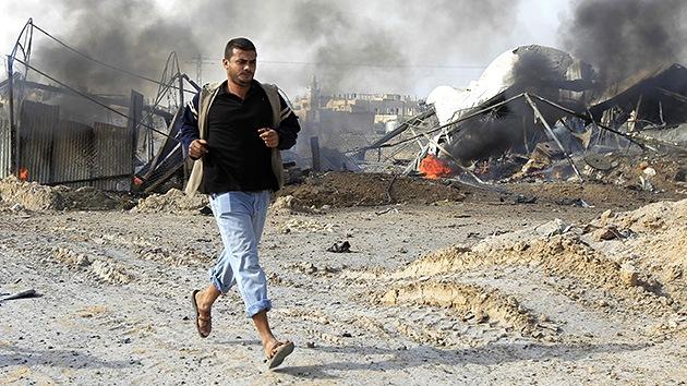 21 de noviembre: Octava jornada de violencia sin tregua entre Israel y Hamás