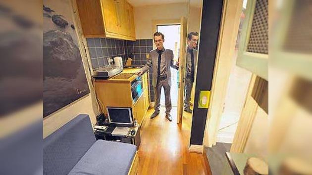 En Londres se vende un apartamento de 5,4 metros cuadrados