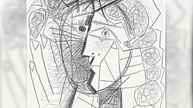 Roban una 'Cabeza de mujer' dibujada por Picasso de una galería estadounidense