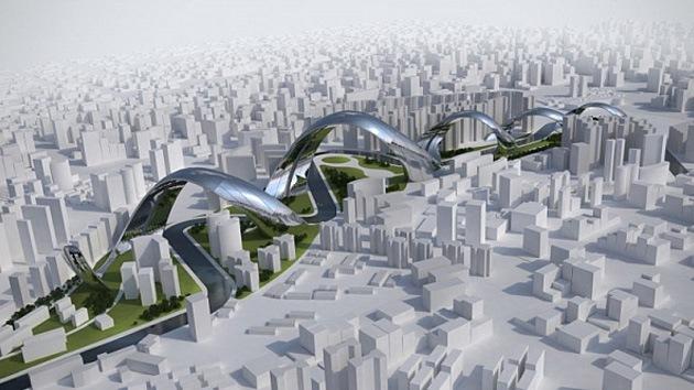 El 'dragón dormido' de la arquitectura china