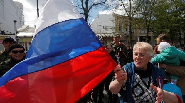 El Parlamento ucraniano podría considerar extremista la simbología rusa