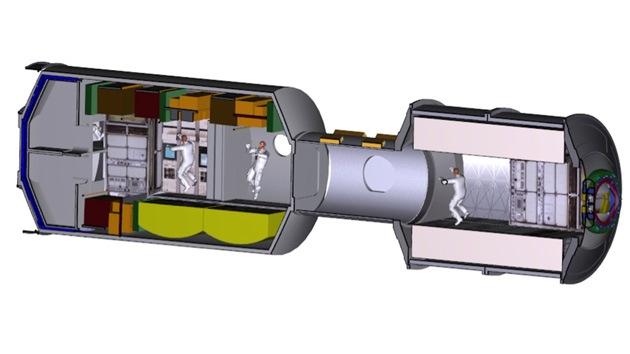 La Nasa construye una nave espacial para llevar al hombre a Marte