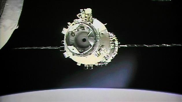 Video: La nave espacial china se acopla a su módulo orbital