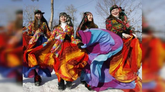 Los rusos se despiden del invierno y piden perdón por sus pecados