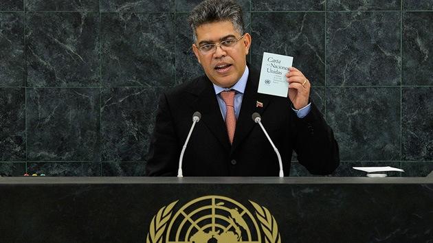 """Jaua dice que la ONU """"está secuestrada"""" por el imperialismo"""