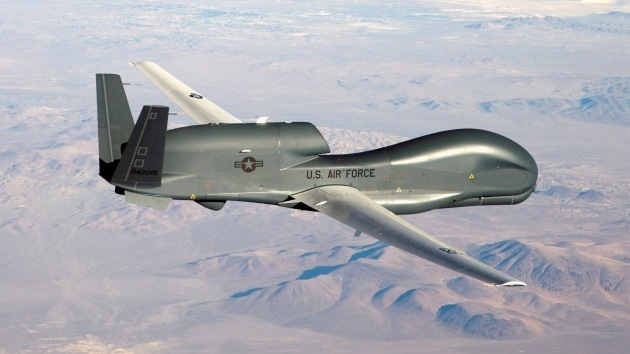 EE.UU. despliega dos drones Global Hawk en Japón para espiar a Corea del Norte y China