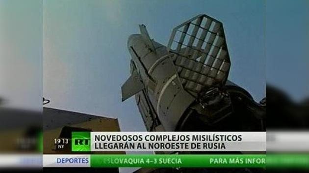 Rusia instala sus novedosos complejos misilísticos en la región noroeste