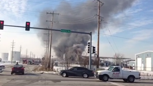 Video: Una explosión sacude una planta química en EE.UU.