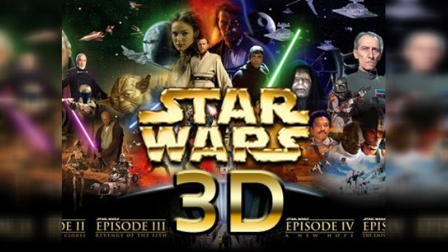 """En 2012 """"La  Guerra de las Galaxias"""" saldrá en 3D"""