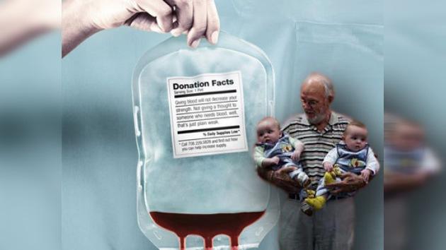 Un australiano con 'el brazo de oro' salva a dos millones de bebés