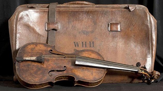 Confirman que han encontrado el violín del Titanic