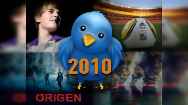 Twitter anunció los 'trends' más populares del año 2010