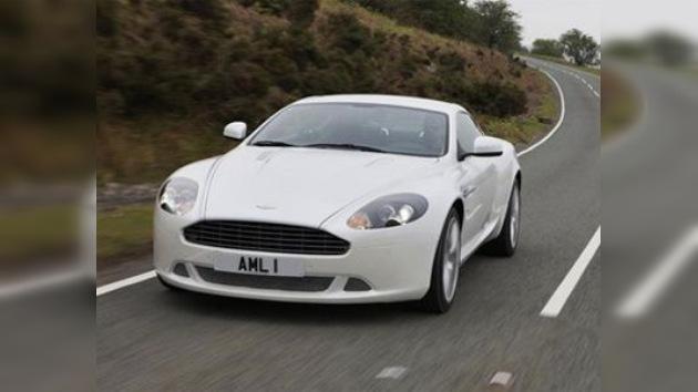 Primeras fotos del deportivo supersecreto de Aston Martin