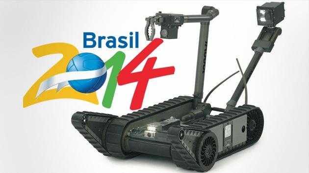 Robots militares vigilarán Brasil durante el Mundial de Fútbol